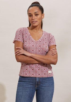 ERIN - T-shirt print - pink mauve