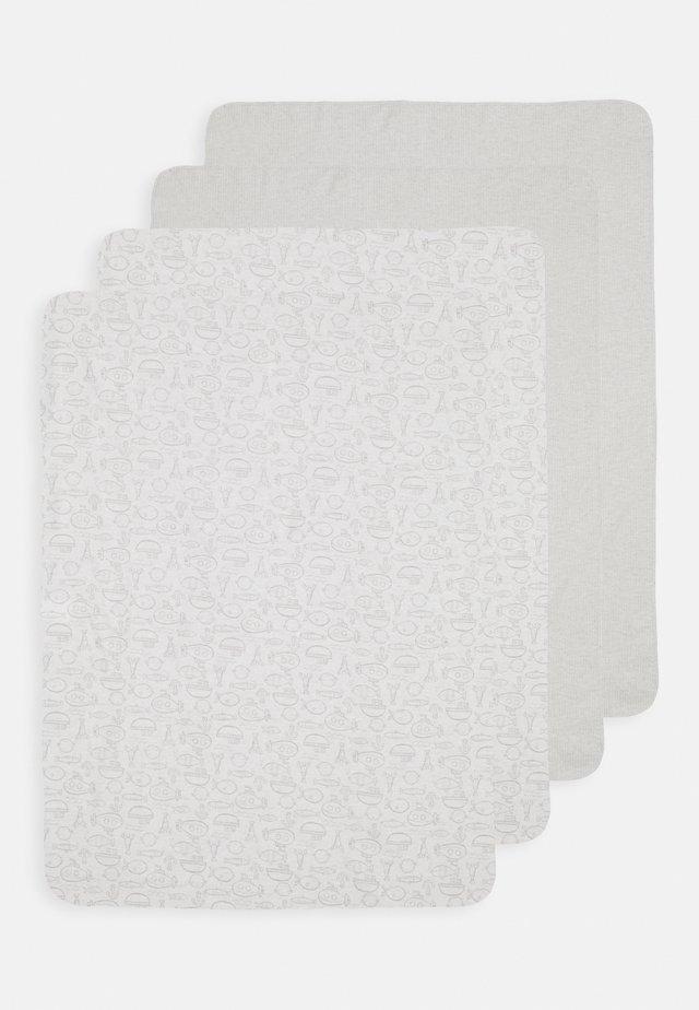 WHALE 4 PACK UNISEX - Jiné doplňky - grey/white