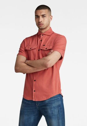 MARINE SERVICE SLIM - Shirt - dull berry gd