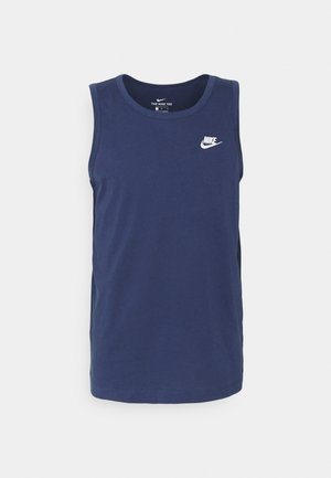 CLUB TANK - Top - midnight navy/white