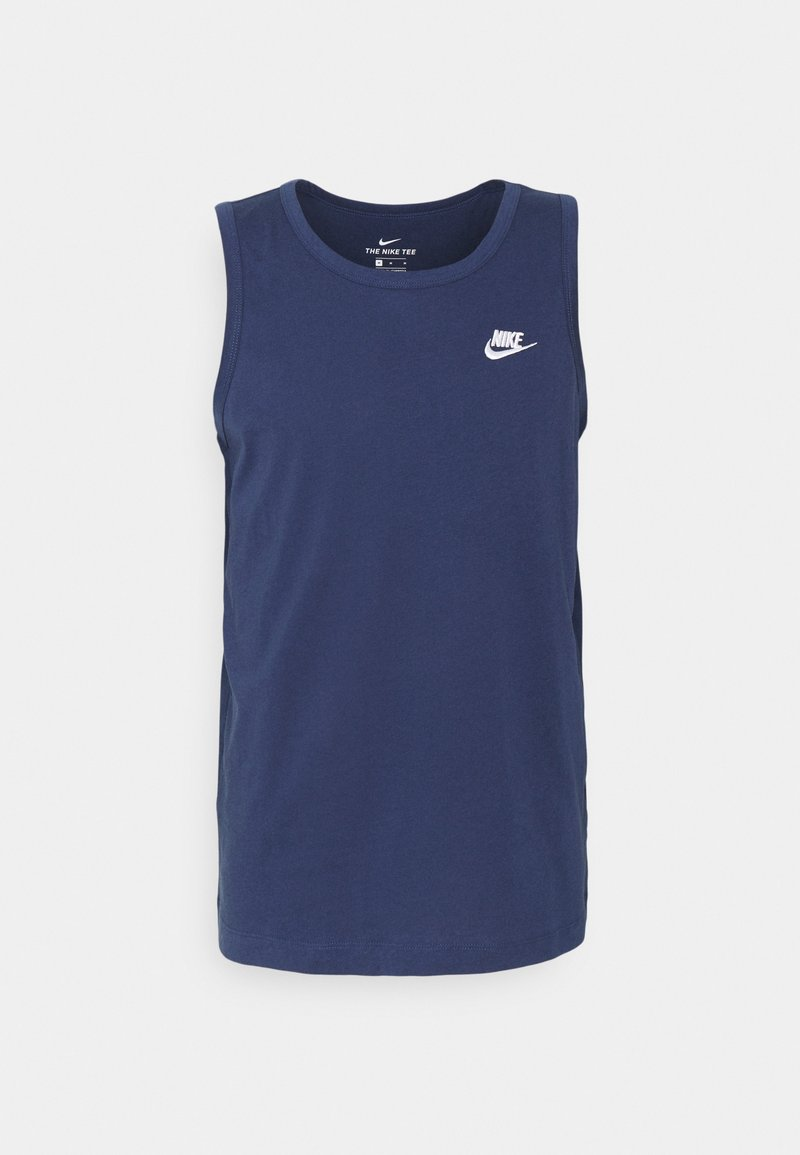 Nike Sportswear - CLUB TANK - Top - midnight navy/white