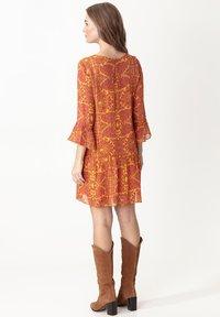 Indiska - MILLIE - Sukienka letnia - yellow - 2