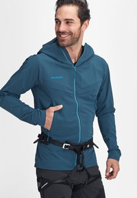Mammut - AENERGY PRO  - Soft shell jacket - wing teal