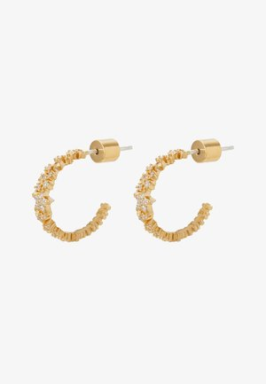 MYSTIC STAR HOOPS - Pendientes - gold-coloured