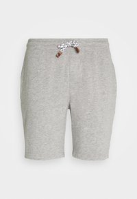 INDICODE JEANS - EXCLUSIVE 2 PACK - Shorts - black/light grey - 7
