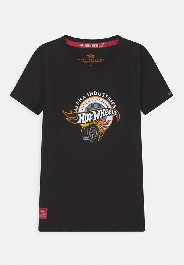 HOT WHEELS ALPHA - T-shirt print - black
