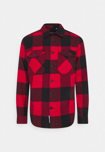ONSMILO LIFE CHECK  - Shirt - fiery red