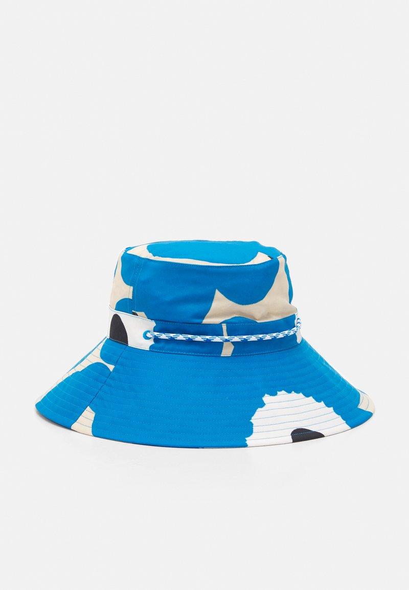 Marimekko - SIIMEKSESSÄ UNIKKO HAT - Hat - beige/blue/black