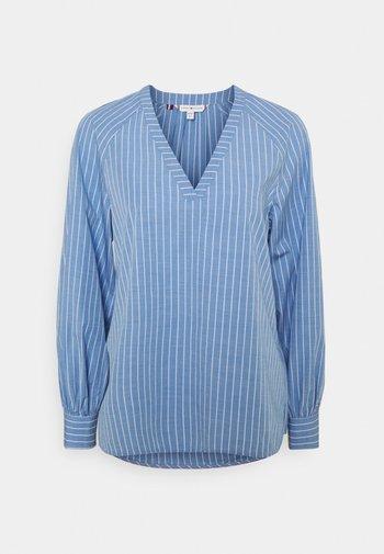 BLOUSE - Long sleeved top - bio blue