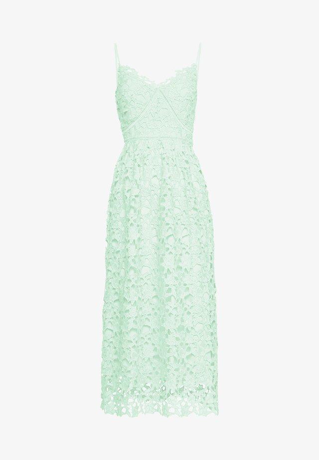 YASLUIE STRAP MIDI DRESS SHOW - Vestito elegante - misty jade