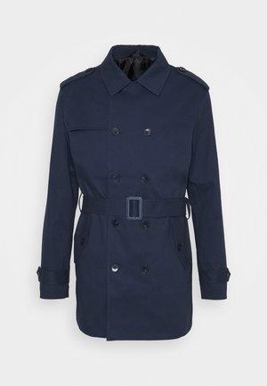 PALMER - Trench - navy blazer