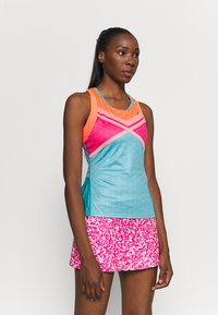 ASICS - TENNIS TANK - Sports shirt - techno cyan - 2