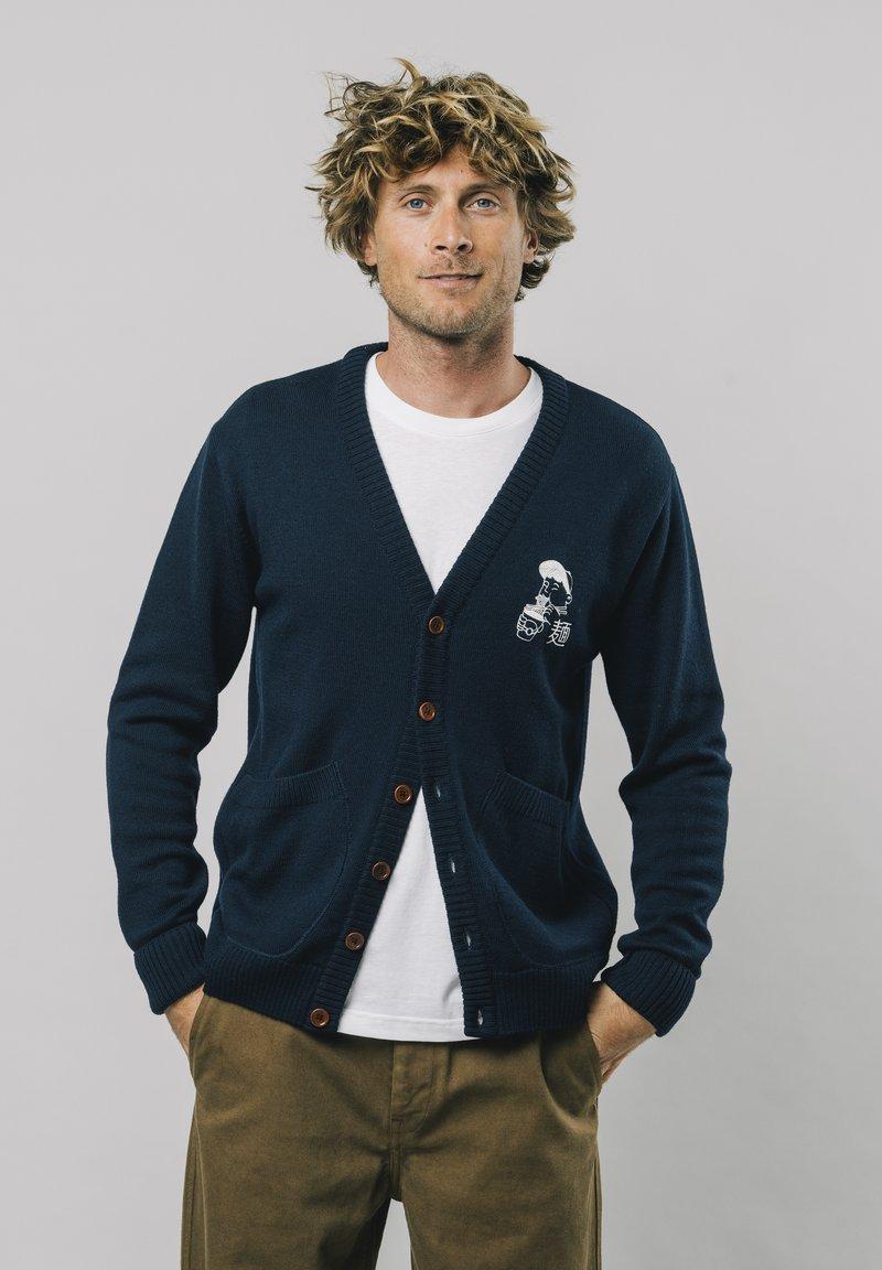 Brava Fabrics - Cardigan - blue