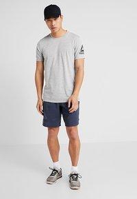 Reebok - TEE - Print T-shirt - grey - 1