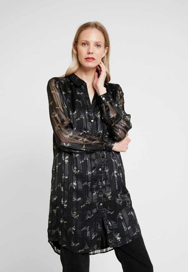 GERTRUDE LONG - Button-down blouse - black