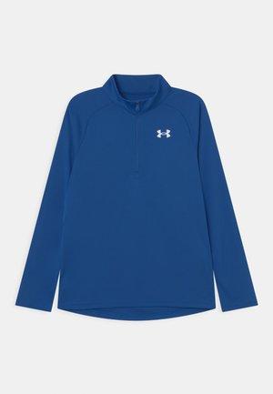 TECH ZIP - Bluzka z długim rękawem - blue