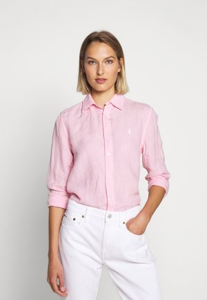 RELAXED LONG SLEEVE - Camisa - carmel pink