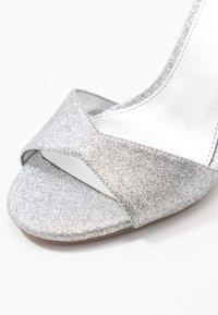 MICHAEL Michael Kors - MALINDA - High heeled sandals - silver - 2