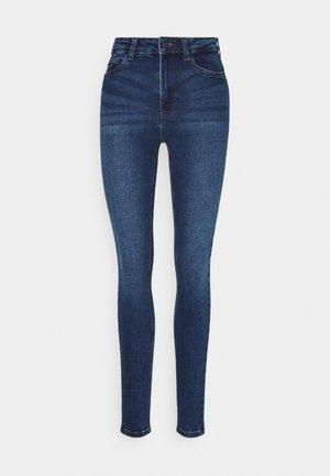 NMCALLIE CHIC - Jeans Skinny Fit - dark blue denim