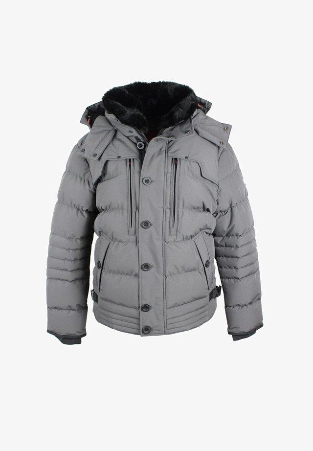 Winter jacket - steelgrey