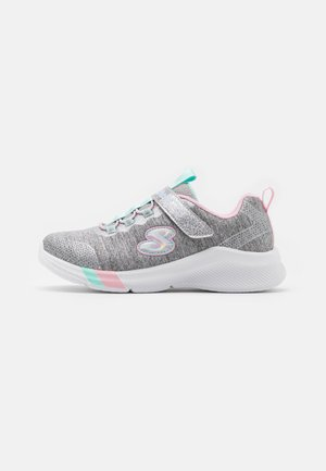 DREAMY LITES - Trainers - light grey heathered/aqua/pink