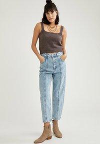 DeFacto - Bootcut jeans - blue - 1