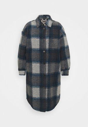 CARANDREA LONG SHACKET - Classic coat - blue graphite