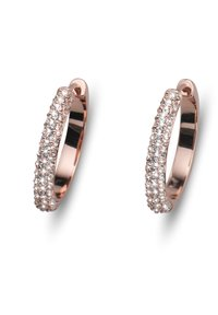 Oliver Weber - CREOLE BRILL - Earrings - rosegold - 0