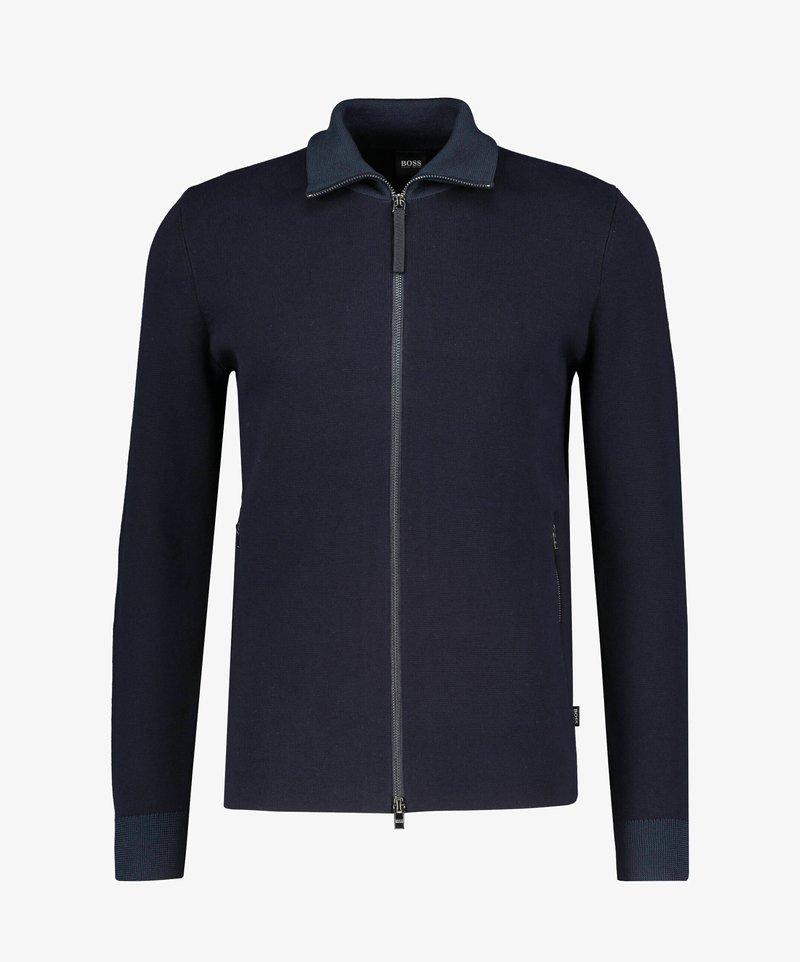 BOSS - GALBERTO - Zip-up hoodie - marine
