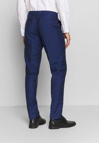 Tommy Hilfiger Tailored - PIECE WOOL BLEND SLIM SUIT - Garnitur - blue - 5