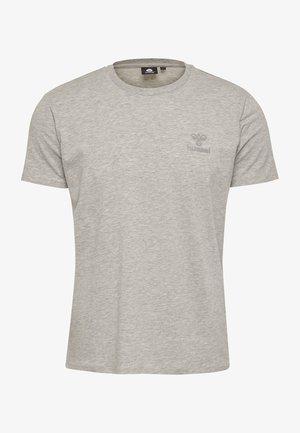 HMLSIGGE - T-shirt imprimé - grey melange