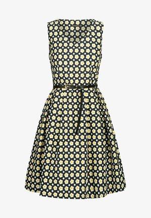 Korte jurk - dunkelgelb