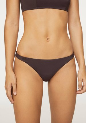 STRAPPY - Bikini bottoms - dark purple