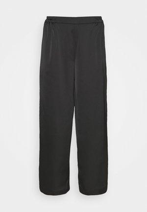 YASTERESA CROPPED PANTS - Trousers - black