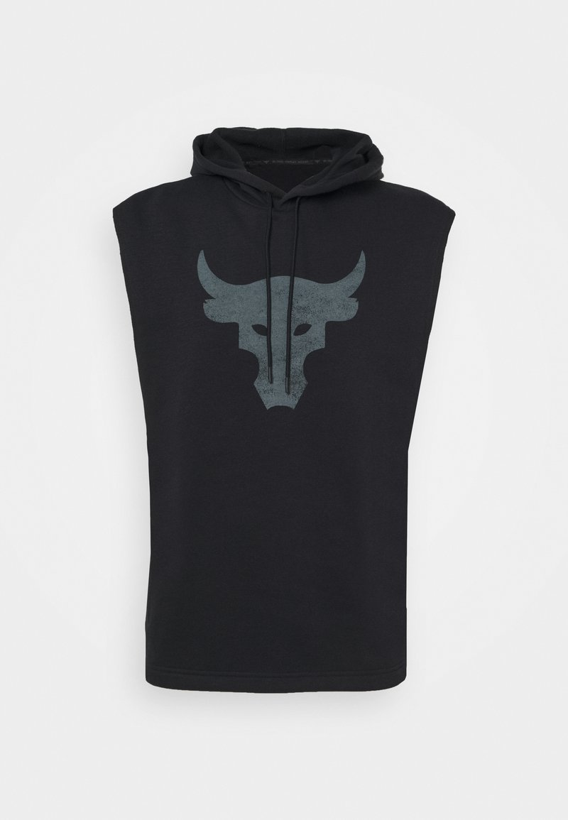 Under Armour - PROJECT ROCK HOODIE - Mikina skapucí - black