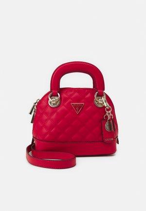 CESSILY SMALL DOME SATCHEL - Handbag - lipstick