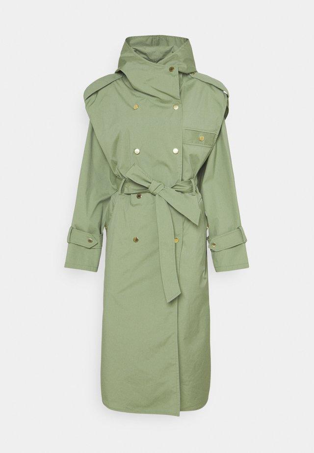 ARIE - Trenchcoat - light green