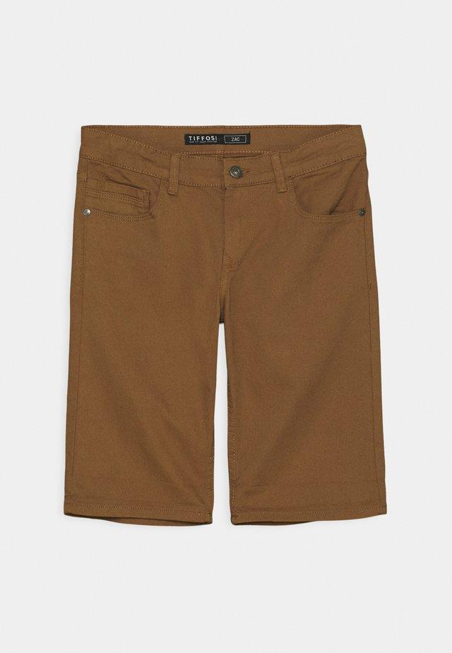 ZAC - Denim shorts - brown