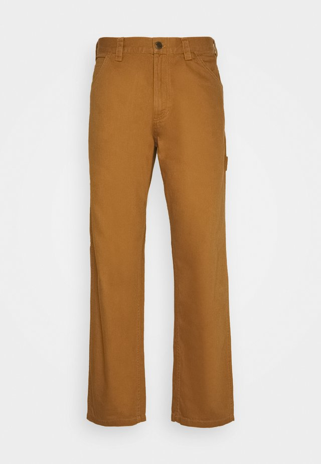 FAIRDALE - Pantaloni - brown duck