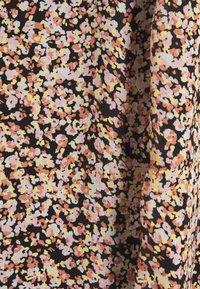 Moss Copenhagen - MERILA RIKKELIE SKIRT  - Maxi skirt - black - 2