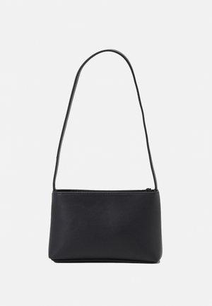PCRIKKA SHOULDER BAG - Handbag - black/silver-coloured