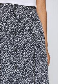 Monki - SIGRID SKIRT - A-line skirt - blue dark - 4