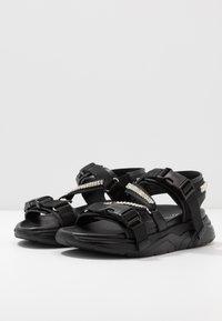 MOA - Master of Arts - Wedge sandals - black - 4