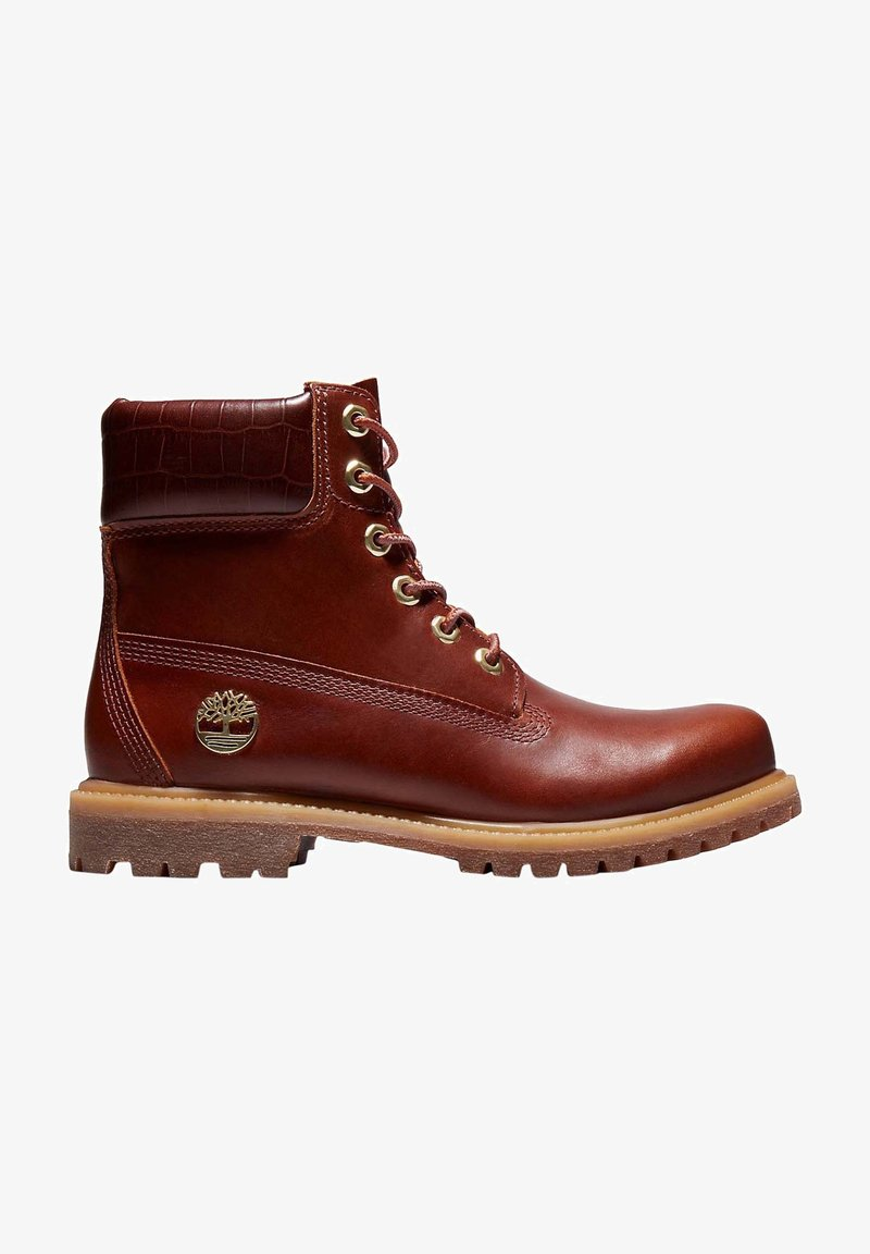 Timberland - PREMIUM BOOT  - Lace-up ankle boots - mottled brown