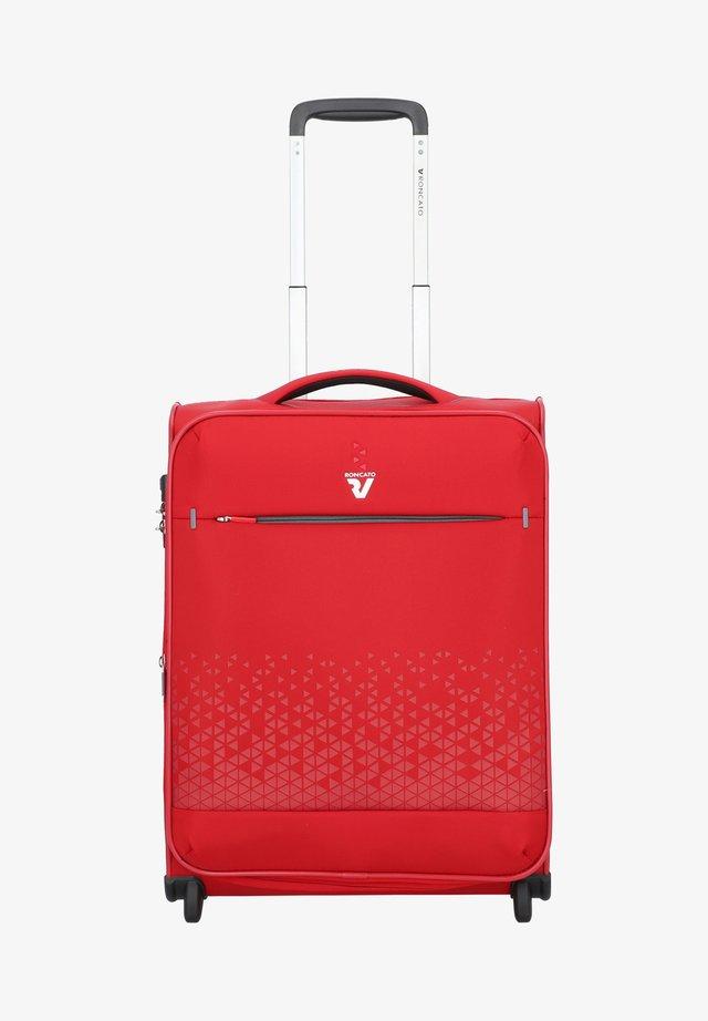 CROSSLITE - Wheeled suitcase - rosso