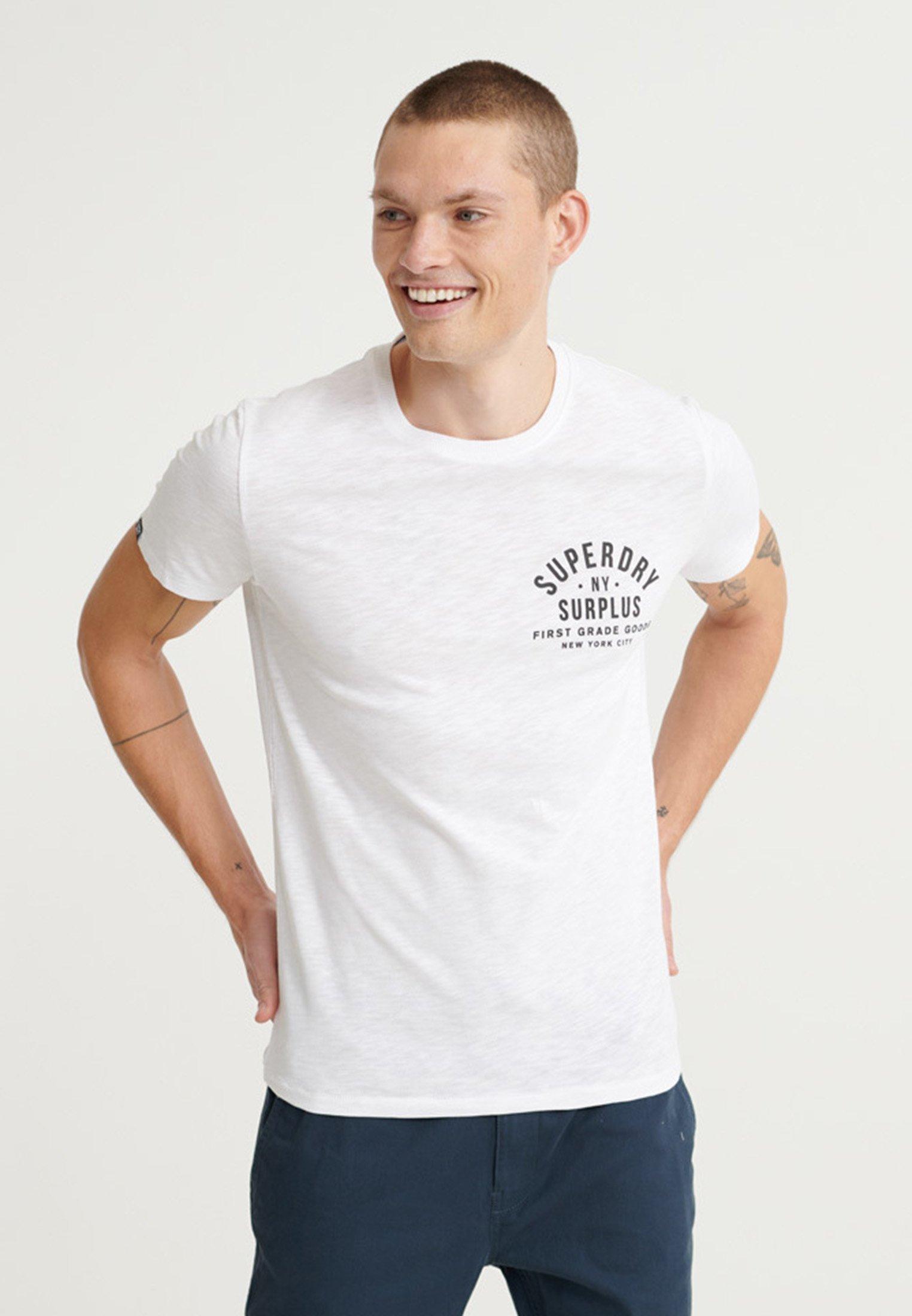 Men SURPLUS GOODS - Print T-shirt