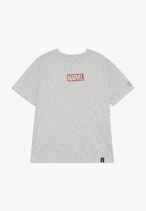ZGREEN BOYS LICENSE SHORT SLEEVE TEE - Camiseta estampada - grey marle