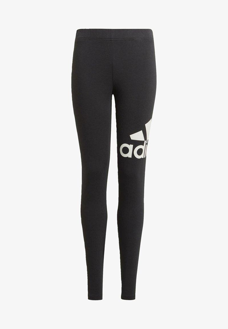 adidas Performance - G LEG ESSENTIALS SPORTS FITTED LEGGINGS - Leggings - black