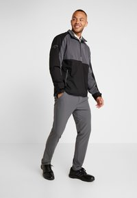 Callaway - BLOCK  WINDJACKET - Veste de survêtement - caviar - 1