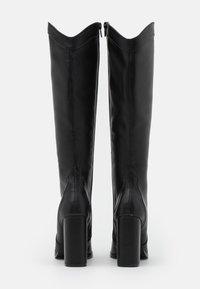 Wallis - PUDDING - High heeled boots - black - 3